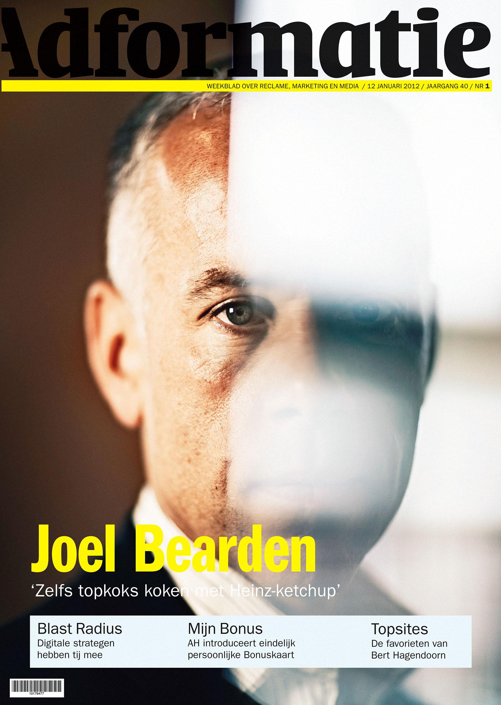 Adformatie - cover - Joel Bearden